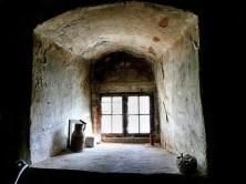 Altes kleines Fenster