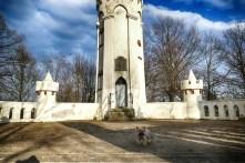 Friedensturm Weinböhla Eingang Turm mit Tür