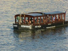 Moldau Touristen Fluss Boot