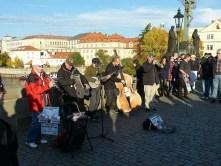 Straßenmusiker Band