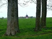 Durchblick Kuppel Bäume Hospitalwald Kleinschirma