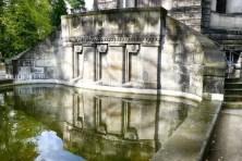 Teich Urnenhain Tolkewitz Krematorium
