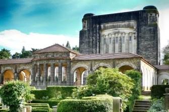 Gebäudeansicht Urnenhain Tolkewitz Krematorium