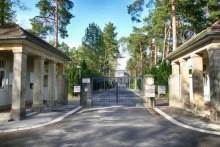 Eingang Urnenhain Tolkewitz