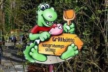 Grillhütte Ausgrabungsstätte Saurierpark
