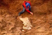 Sauerknochen von Kind gefunden