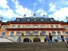 Farbiger Pavillon Schloss Pillnitz