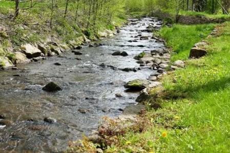 Flussbett Geising