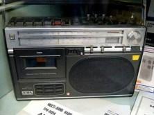 DDR Museum Radio mit Kassette