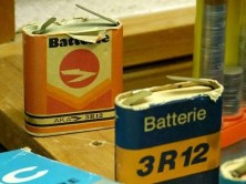 DDR Museum Batterien