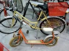 DDR Museum Roller und Fahrrad