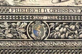 Fürstenzug Dresden Wappen