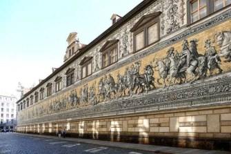 Gesamtansicht Fürstenzug Dresden