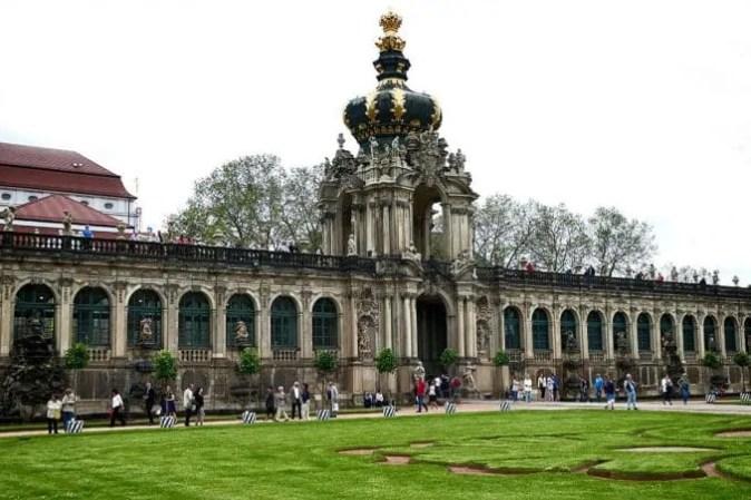 Kronentor Zwinger Dresden