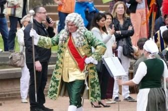 Kostüm August der Starke barocke Kleidung