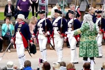 Soldaten Uniform Einzug der Orangen Zwinger