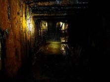 Schacht unter Wasser Reiche Zeche Freiberg