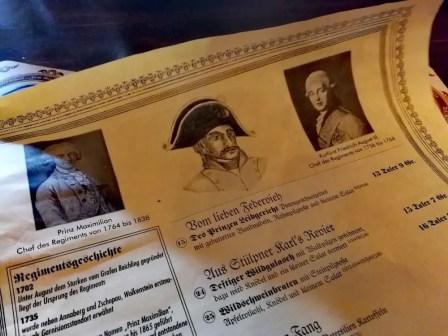 """Erlebnisgastronomie """"Zum Grenadier"""" in Wolkenstein"""