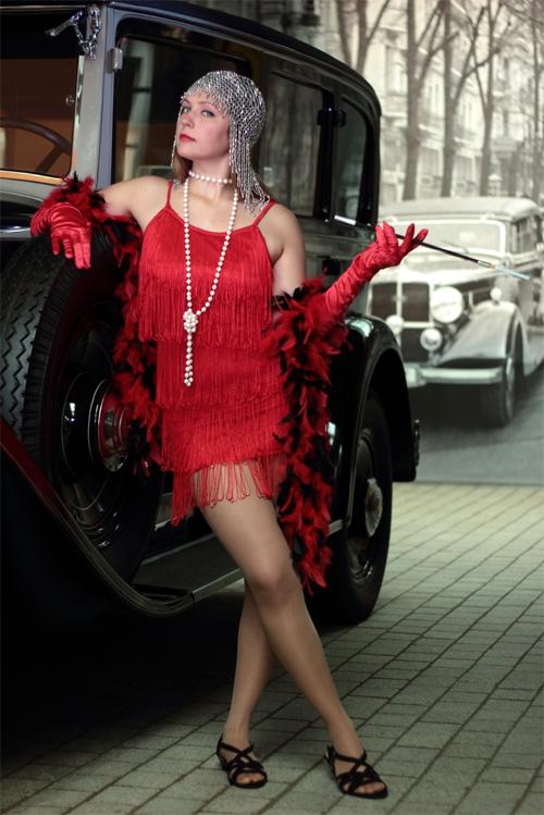 Kristin Hörmann alias Mae Capone. Bildquelle: comediantes.