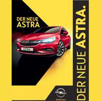 Der neue Astra. PREMIERE AM 10. OKTOBER 2015 im Autohaus Peschel GmbH & Co. KG