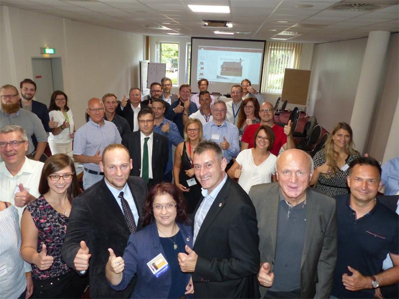 Die Teilnehmer der Gründungsveranstaltung. Bildquelle: MEDIENKONTOR