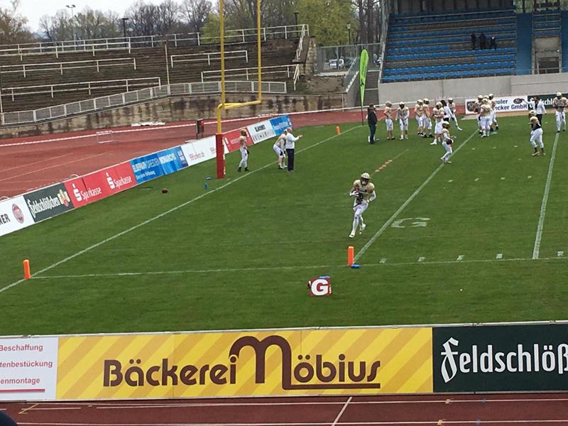 Blick auf das Spielfeld im Dresdner Heinz-Steyer-Stadion. Bildquelle: Mandy Siedersbeck