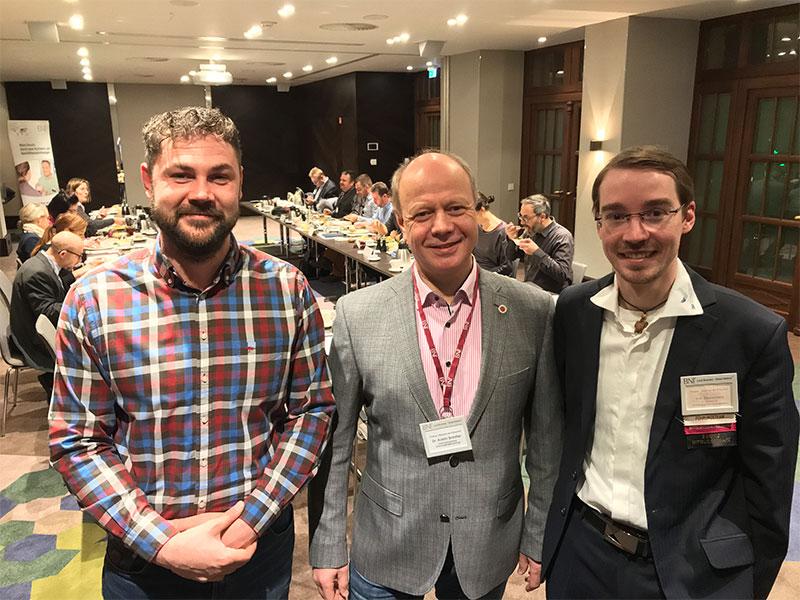 v.l.n.r. Sebastian Weber, Dr. Armin Schiller und Sven Zimmermann. Bildquelle: meeco Communication Services