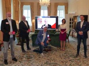 """Unternehmernetzwerk BNI Südost führend in Deutschland. Auszeichnung """"Restart the world""""-Champion aus den USA entgegengenommen"""