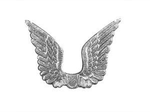 Dresdner Pappe Flügel