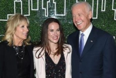 Ashley Biden witha Joe Biden (Father) & Jill Biden (Mother)