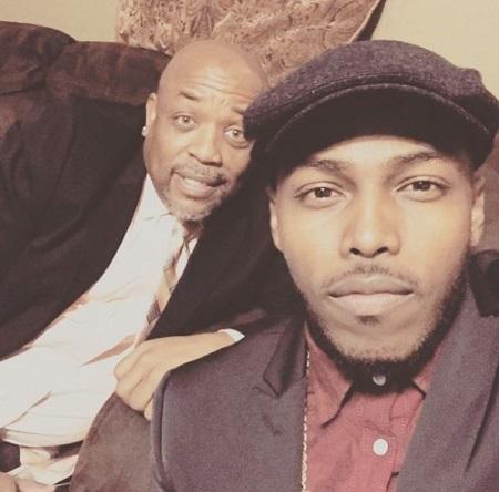 Darrel Walls with his father Roger Walls