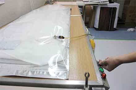 手作り衣類もクリーニング可能です