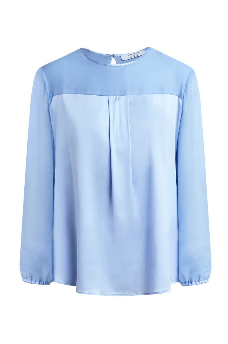 Dressarte-Oversized-sleeves-silk-blouse