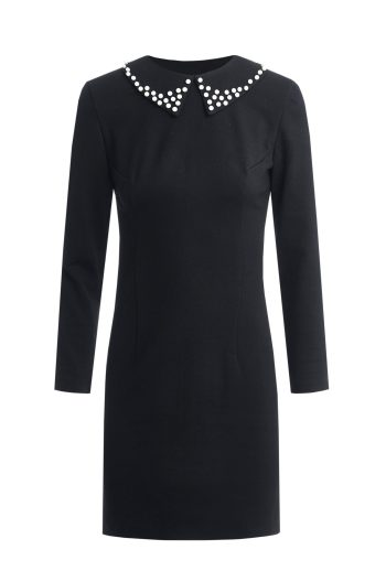 Dressarte-organic-cotton-mini-black-dress