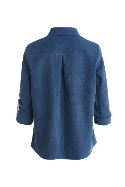 синяя-рубашка-из-крапивы-для-женщин