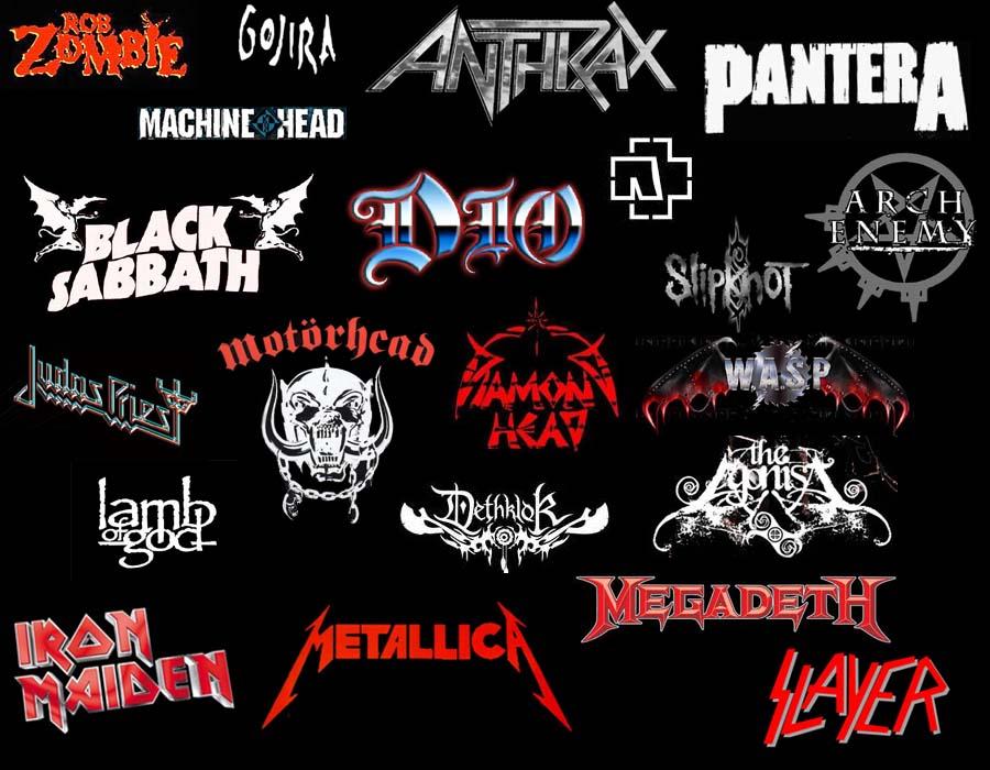 Rock Band Logos And Names