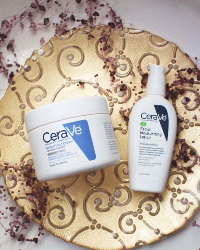 CeraVe Mosturizing Cream And Facial Lotion