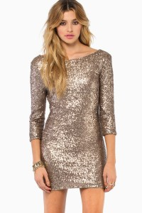 Sequin Bodycon Dress | Dressed Up Girl