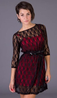 Black Lace Dress Picture Collection   Dressed Up Girl