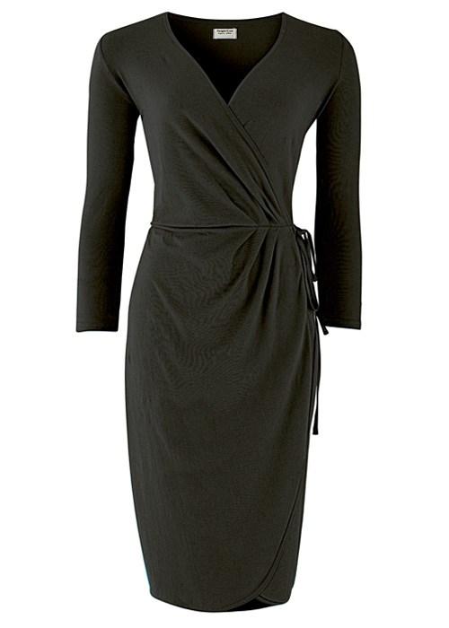 Black Wrap Dress  Dressed Up Girl