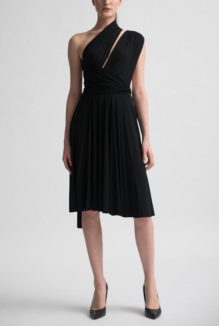 Black Wrap Dress Picture Collection  DressedUpGirlcom
