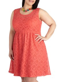 Coral Lace Dress Picture Collection | Dressed Up Girl