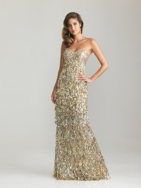 Gold Sequin Dress Picture Collection