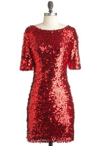 Red Sequin Dress Picture Collection