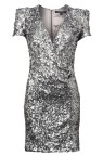 Silver Sequin Dress Dressed Girl