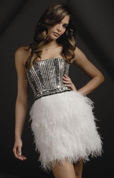 Feather Dress Picture Collection  DressedUpGirlcom