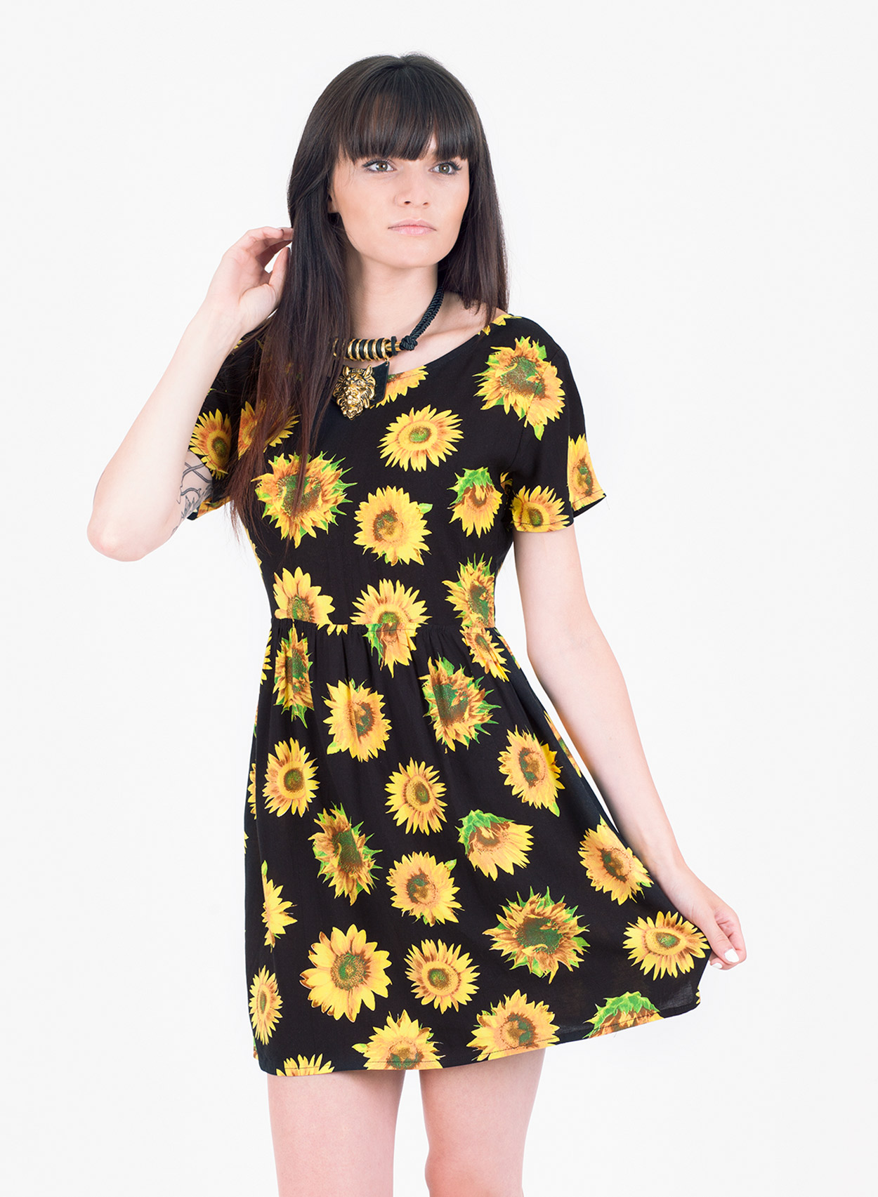 Sunflower Dress Picture Collection Dressed Up Girl