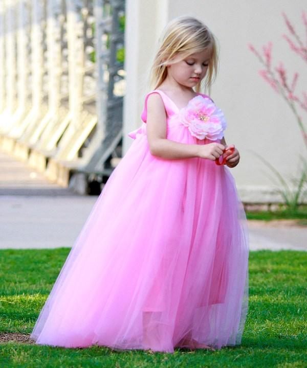 Pink Princess Dress Toddler Girls