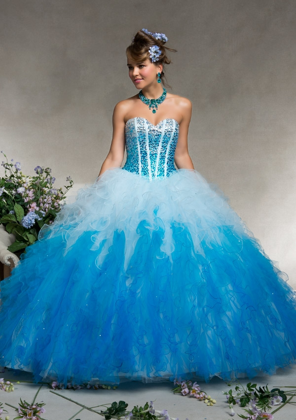 Blue Quinceanera Dresses  Dressed Up Girl