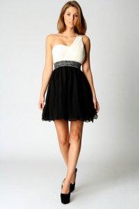 One Shoulder Cocktail Dress | Dressed Up Girl